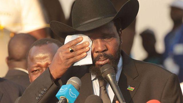 رئيس جنوب السودان سيلفا كير