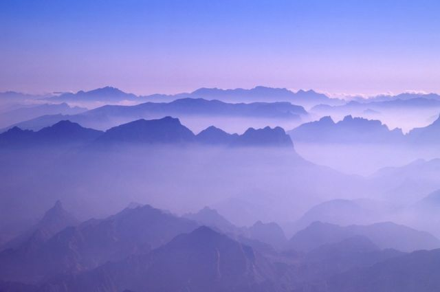 Jebel Shams en Omán