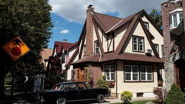 ニューヨーク・クイーンズにあるドナルド・トランプの子供時代の家