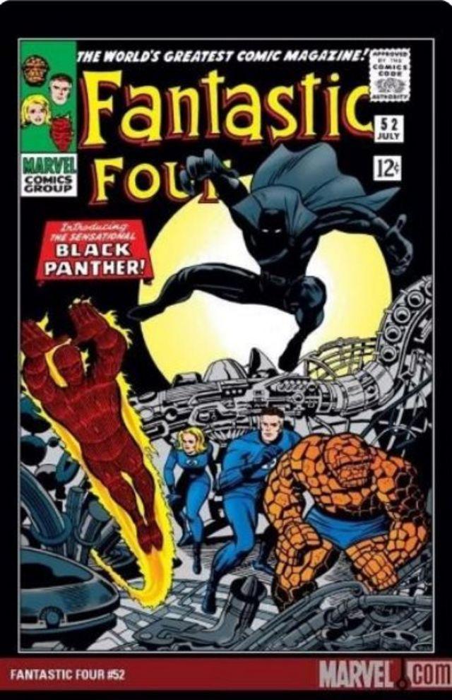 """Naslovna strana stripa """"Fantastična četvorka"""" iz 1966. godine"""