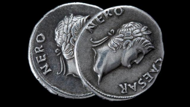 Moedas da época de Nero