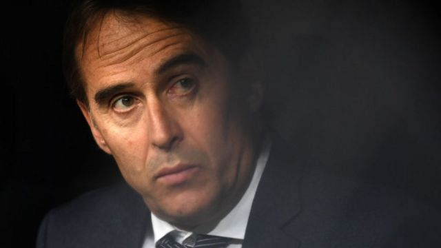 Former Real Madrid coach Julen Lopetegui