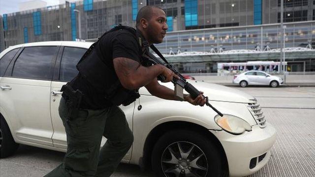 الشرطة قالت إن المشتبه به لم يصب بأذى خلال اعتقاله