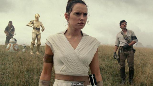 personagens de star wars no novo filme