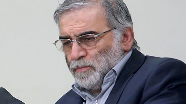 File photo of Mohsen Fakhrizadeh