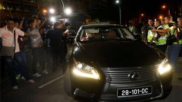 朝鮮使館人員周三曾前往停放金正男遺體的吉隆坡中央醫院