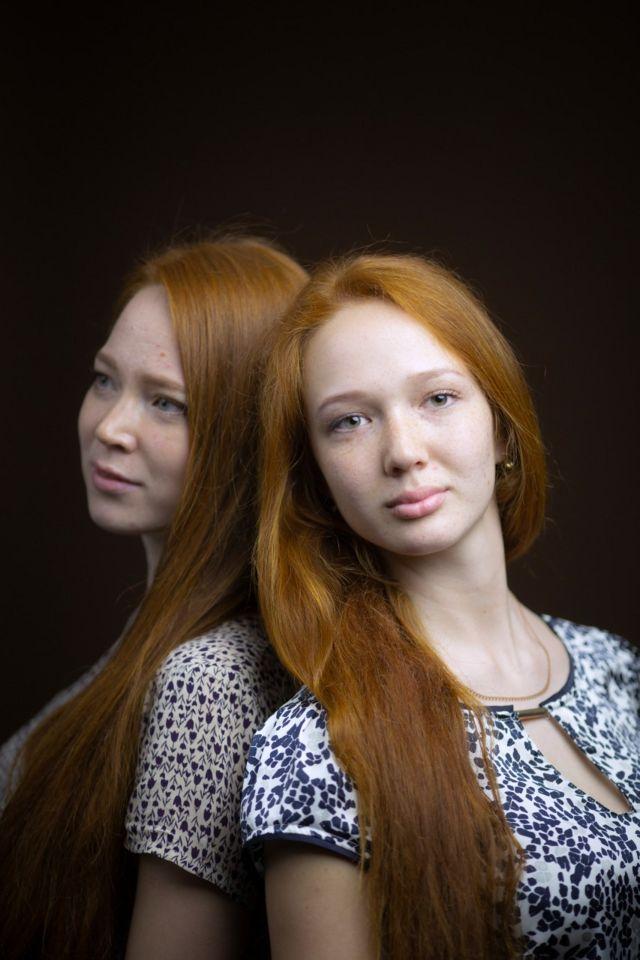 تاتيانا وفاليريا كوروتايفا من روسيا مواليد 1998 و1999