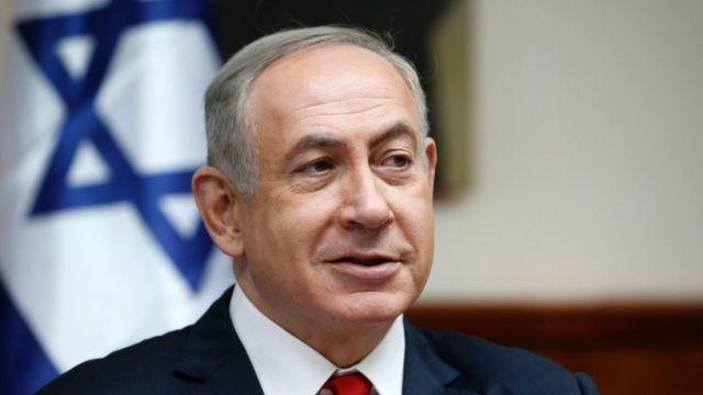 نتنياهو في جلسة مجلس الوزراء يوم الأحد