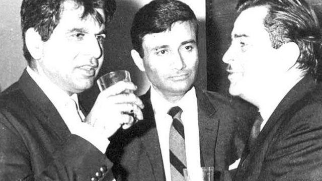 دلیپ کمار، دیو آنند اور راج کپور