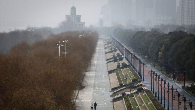 武汉封城后街头几乎没人
