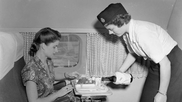 The Comet's passengers flew in luxurious comfort