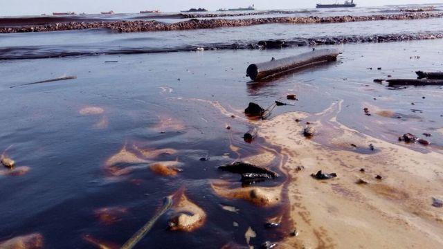 kerusakan di pesisir Balikpapan
