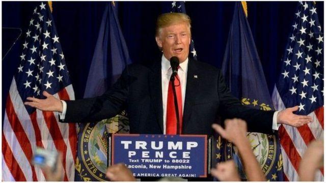 Trump yari amaze kwerekana amazinda ku bwenegihugu bwa Obama igihe kirekire