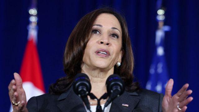 Phó Tổng thống Hoa Kỳ Kamala Harris có bài phát biểu ở Singapore trước khi khởi hành đến Việt Nam