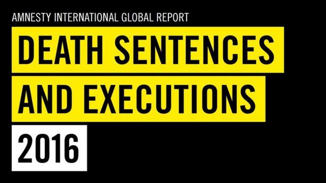 Bản phúc trình của Amnesty International về tình hình án tử hình và thực tế thi hành án được công bố hôm thứ Ba