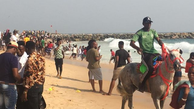 Pipo dey celebrate Christmas for Elegushi beach