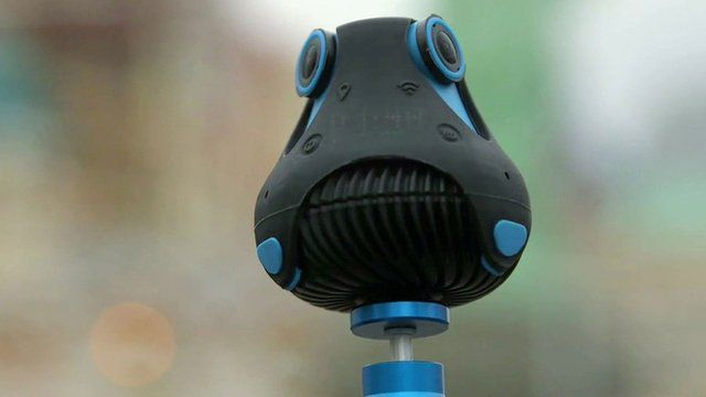 The Giroptic 360 degree camera
