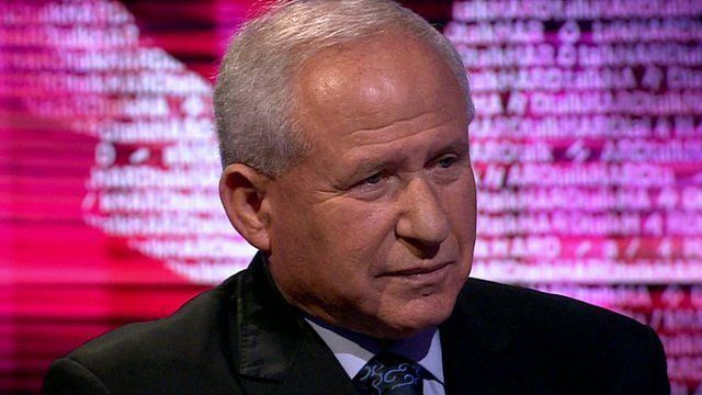 Avi Dichter, chair of Israel's Foreign Affairs and Defence Committee