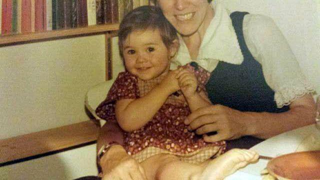 Сара Томас кад је имала једну и по годину