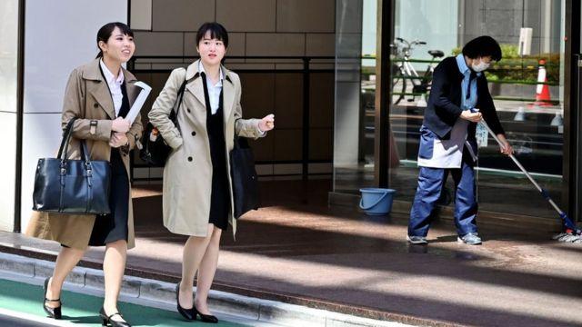 empleadas japonesas