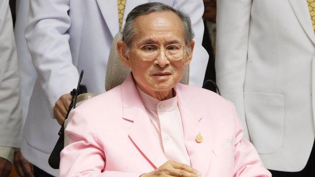 Monarca Bhumibol Adulyadej