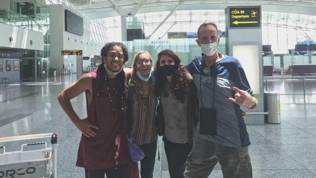 Noal Clemens là người Mỹ đến Việt Nam du lịch và mắc kẹt ở đây từ tháng 3/2020.