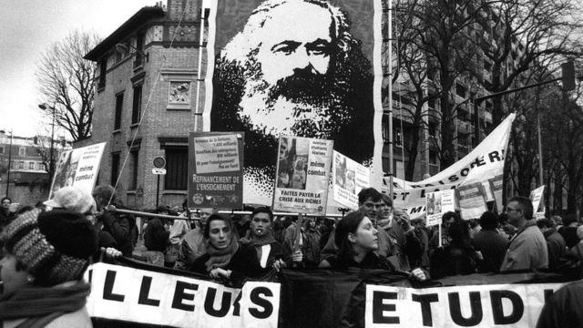 Protesta en Francia