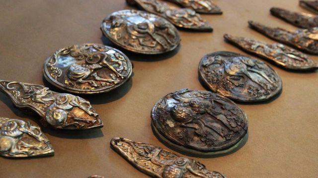 Monedas de los tiempos del imperio mongol