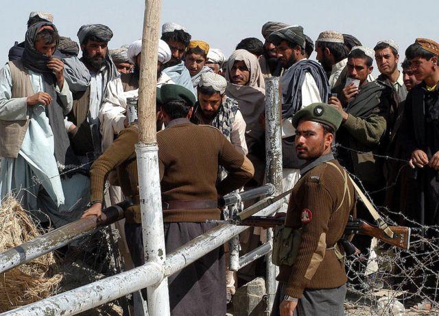 Fronteira afegã-paquistanesa
