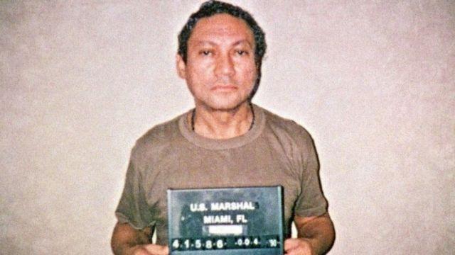 Picha ya Jenerali Manuel Antonio Noriega tarehe 30 mwezi Mei 2017