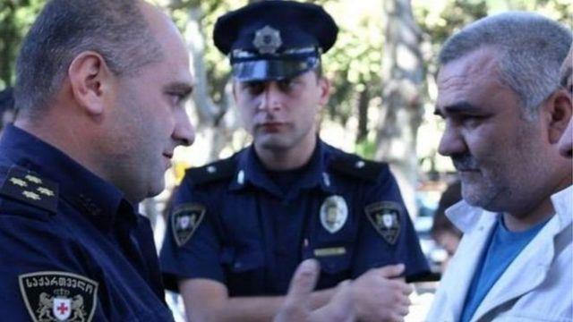 Əfqan Muxtarlı və Gürcüstan polisləri