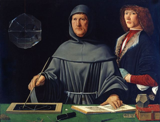 Retrato de Luca Pacioli