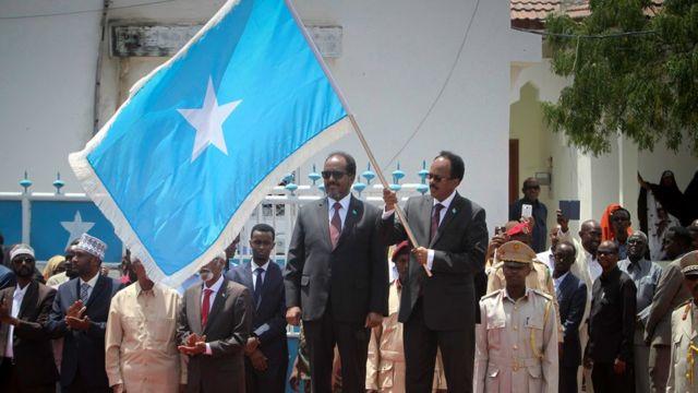 الرئيس الصومالي الجديد