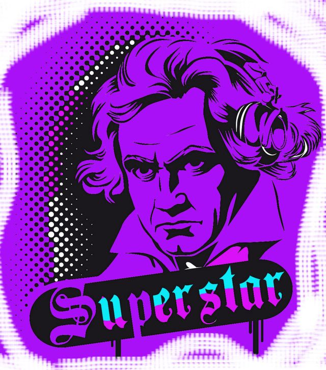 Beethoven Superstar gráfico