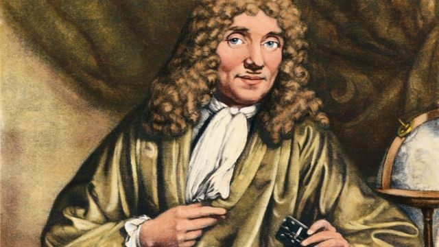 Dibujo de Anton van Leeuwenhoek
