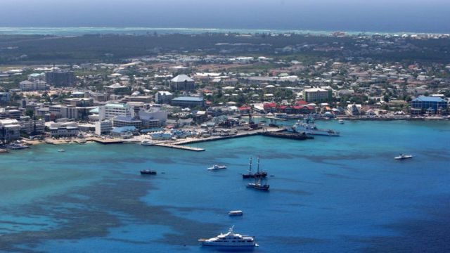 Las Islas Caiman son un ejemplo de paraiso fiscal.