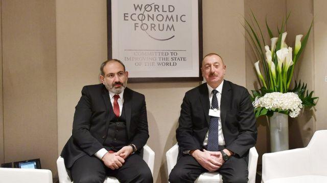 İlham Əliyev və Nikol Paşinyan