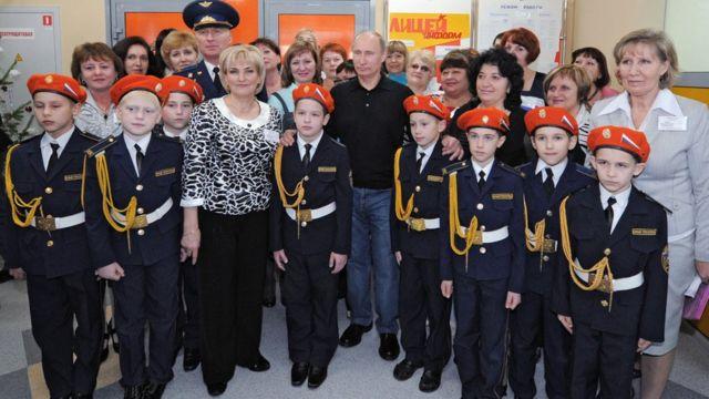 Школа. Путин