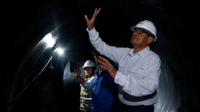 Inspección en túneles