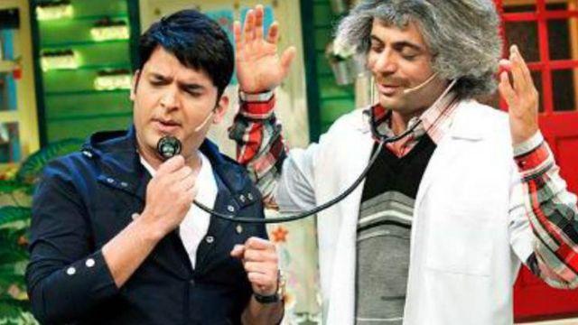 सुनील ग्रोवर और कपिल शर्मा