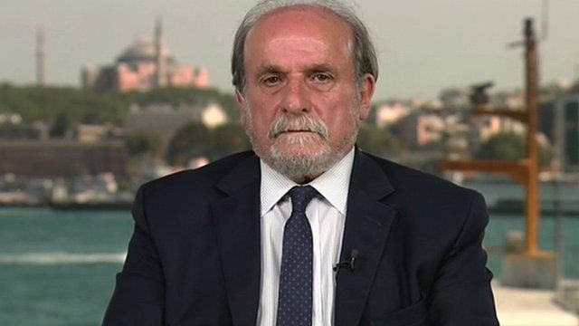 Turkish MP Ertugrul Kurkcu