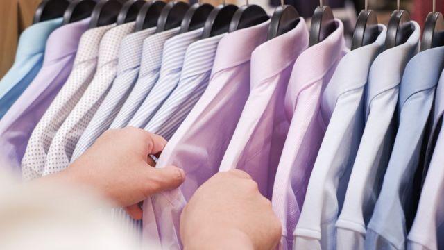 Selección de camisas.