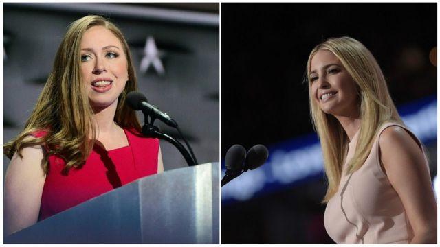 Chelsea Clinton e Ivanka Trump