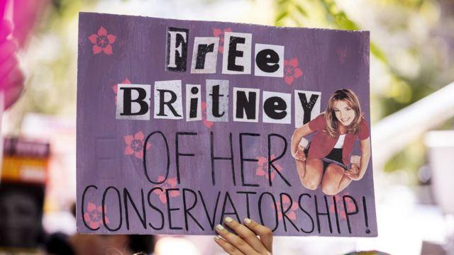 Cartel a favor de Britney Spears