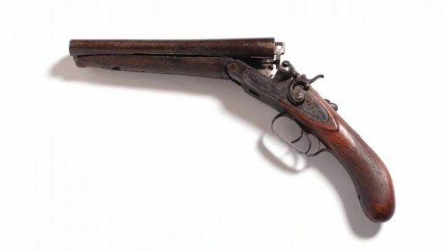 Gun belonging to Kray twins