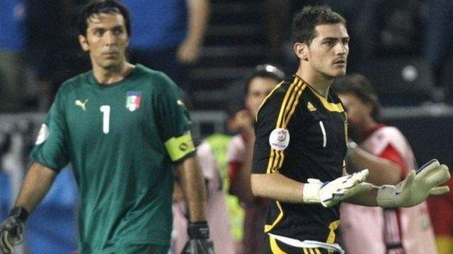 Buffon da Casillas