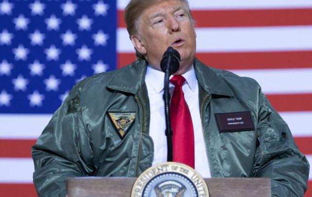 Trump dan tentara AS