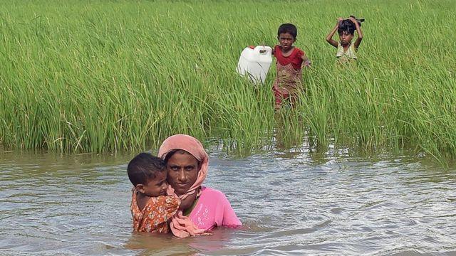Pemgungsi Rohingya