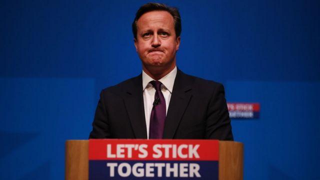 Cameron en Edimburgo