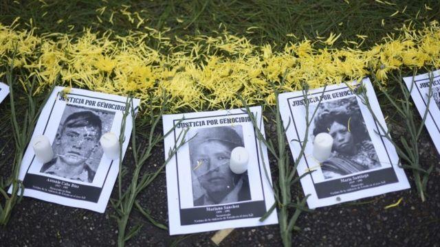 Fotos de víctimas